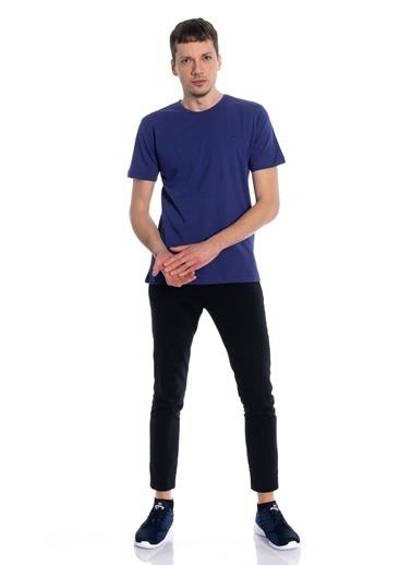 Slazenger Sander Erkek Kısa Kol Tişört İndigo